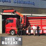 Unterbau und Kranfrontmontage Fahrzeugbau Hameln Schierling Butzki