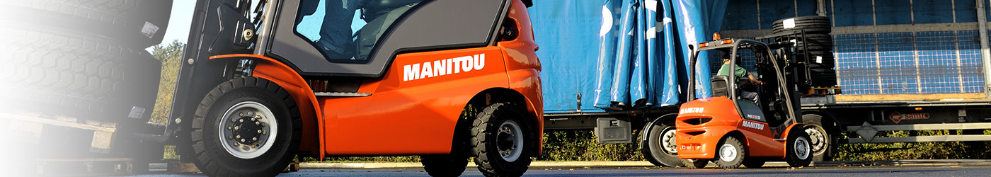 Maststapler von Manitou - Händler Hameln