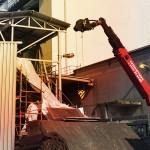 Flexibler Helfer: Manitou MRT mit montierter Seilwinde