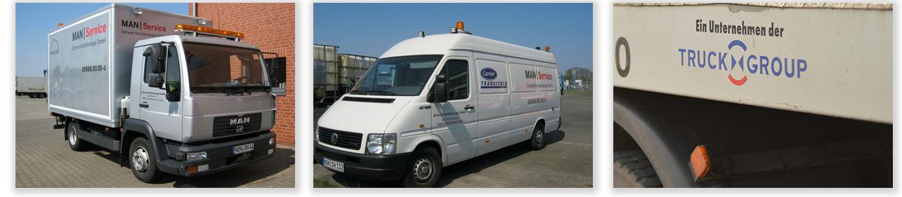24 Stunden Notdienst für LKW, Busse, Nutzfahrzeuge in Wietmarschen, Bad Bentheim und Umgebung