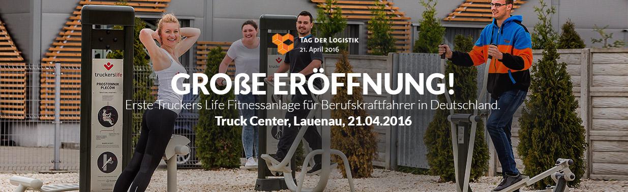 Truckerslife Outdoor Fitnessanlage in Lauenau