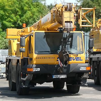 Liebherr Autokran mieten in Schuettorf Wietmarschen Bentheim Grafschaft Lingen Ems