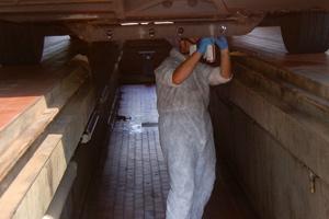 Unterbodenpflege für Omnibusse