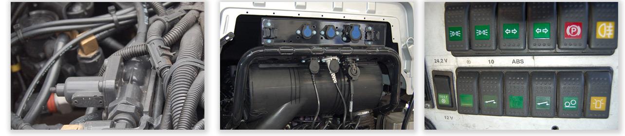 Service Diagnose und Reparatur für Nutzfahrzeugelektronik LKW und BUS