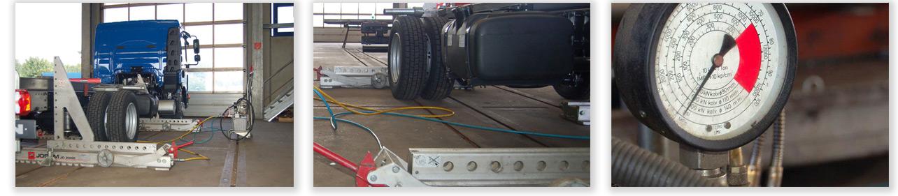 Richtarbeiten und Unfallinstandsetzung für LKW und Bus in Hameln