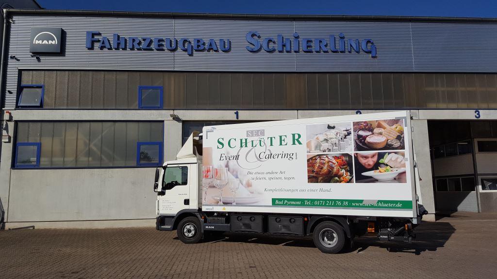 Kühlkofferaufbau mit Carrier Pulsor Kühlanlage Hameln
