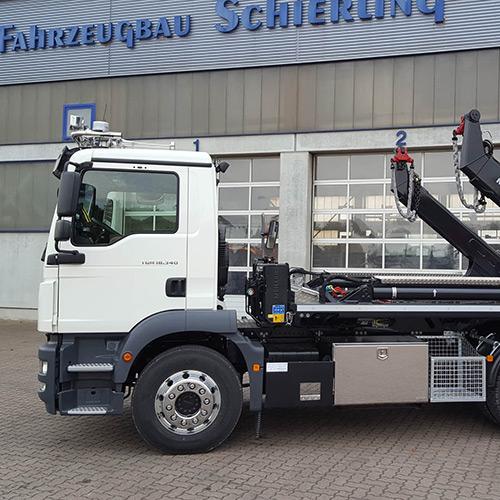 Meiller Absetzkipper AK 12 MT - Fahrzeugbau Hameln