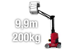 Vermietung Manitou 100 VJR Arbeitsbühne Hameln