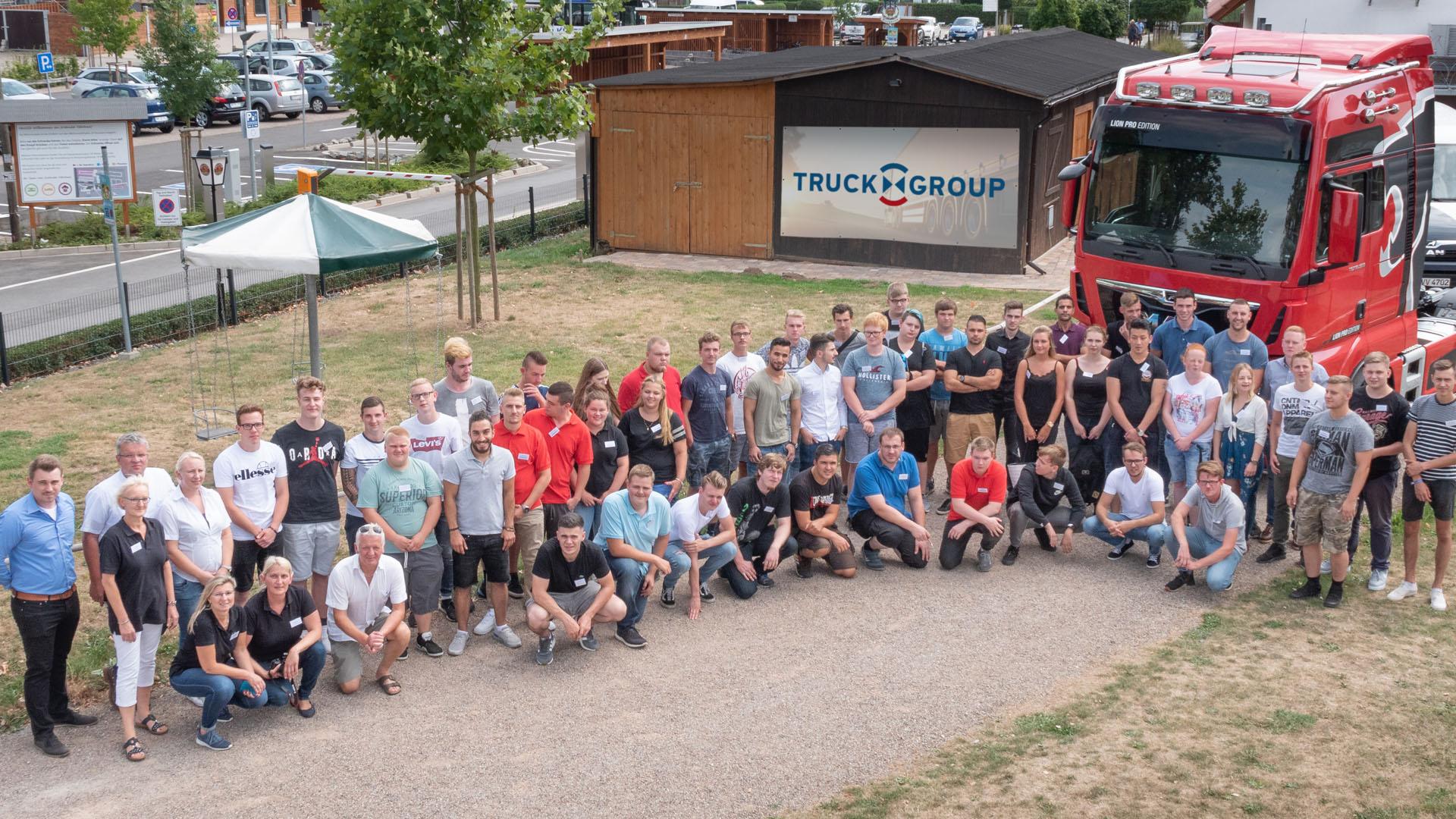 Truckxxgroup Azubi-Treffen 2018