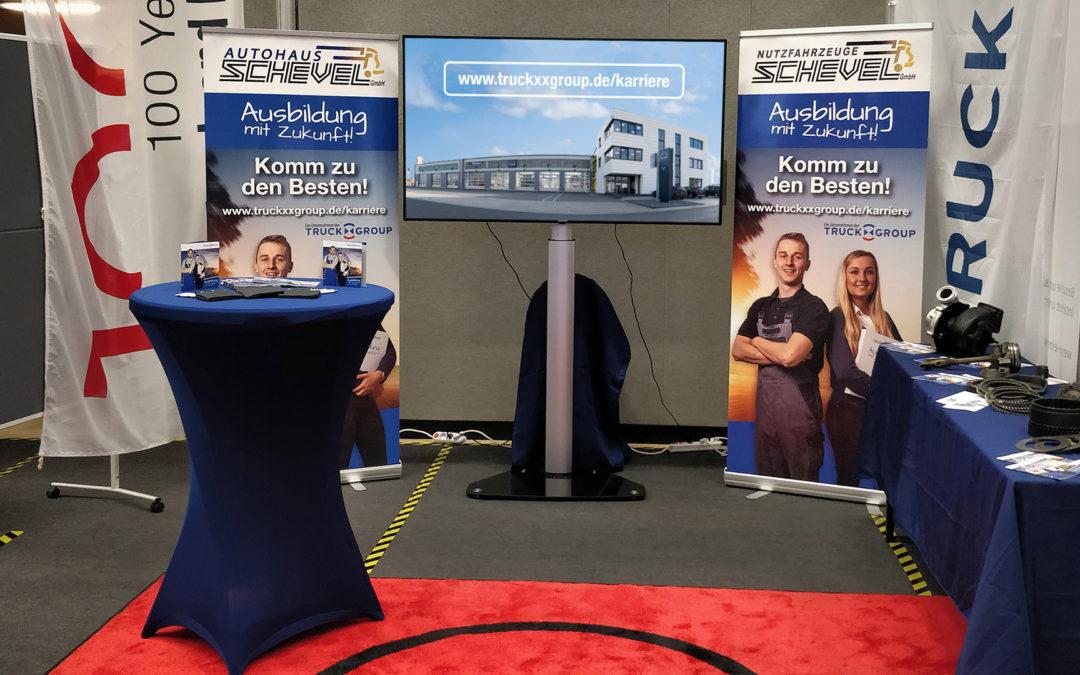 Berufserkundungstag in Schüttorf – Großes Interesse am Truckxxgroup Stand