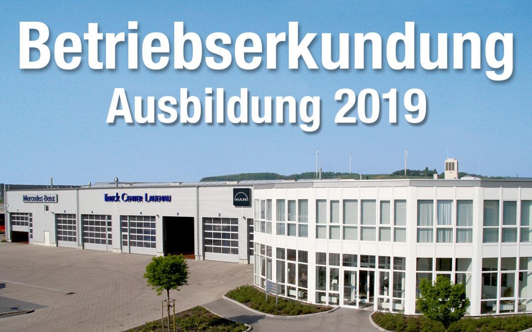 Ausbildung 2019 – Reinschnuppern beim Truck Center Lauenau