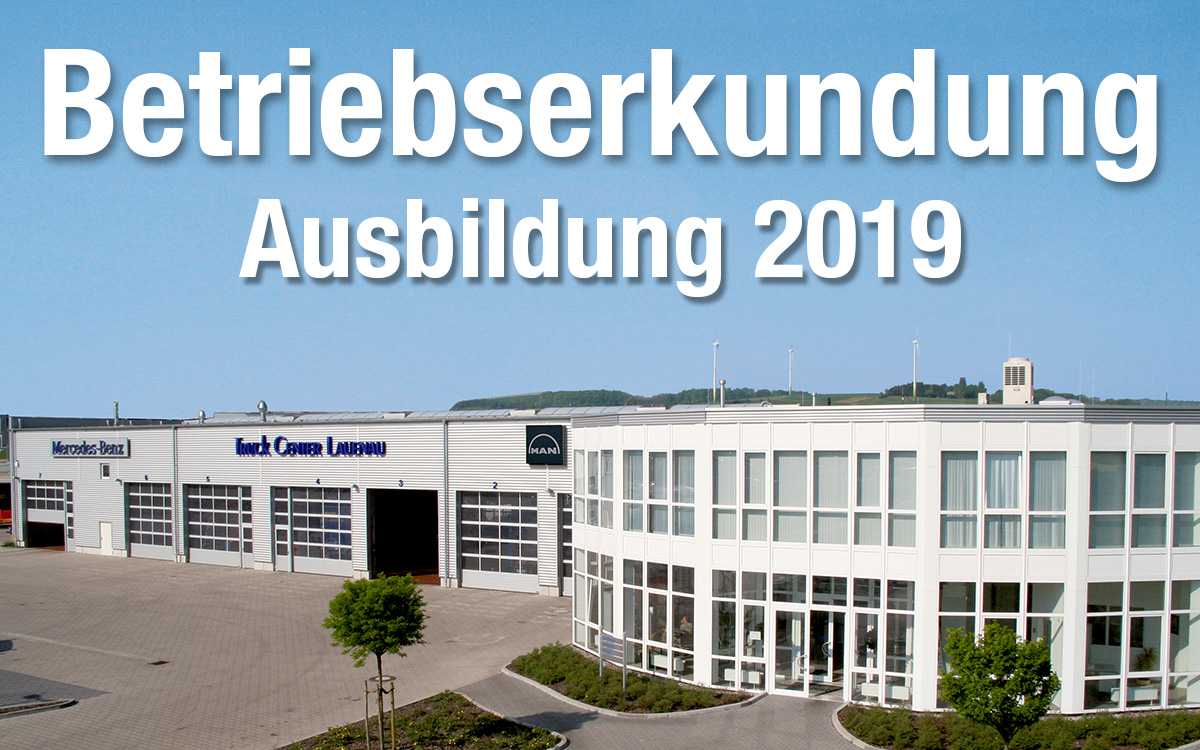Ausbildung 2019 in Lauenau Betriebserkundung