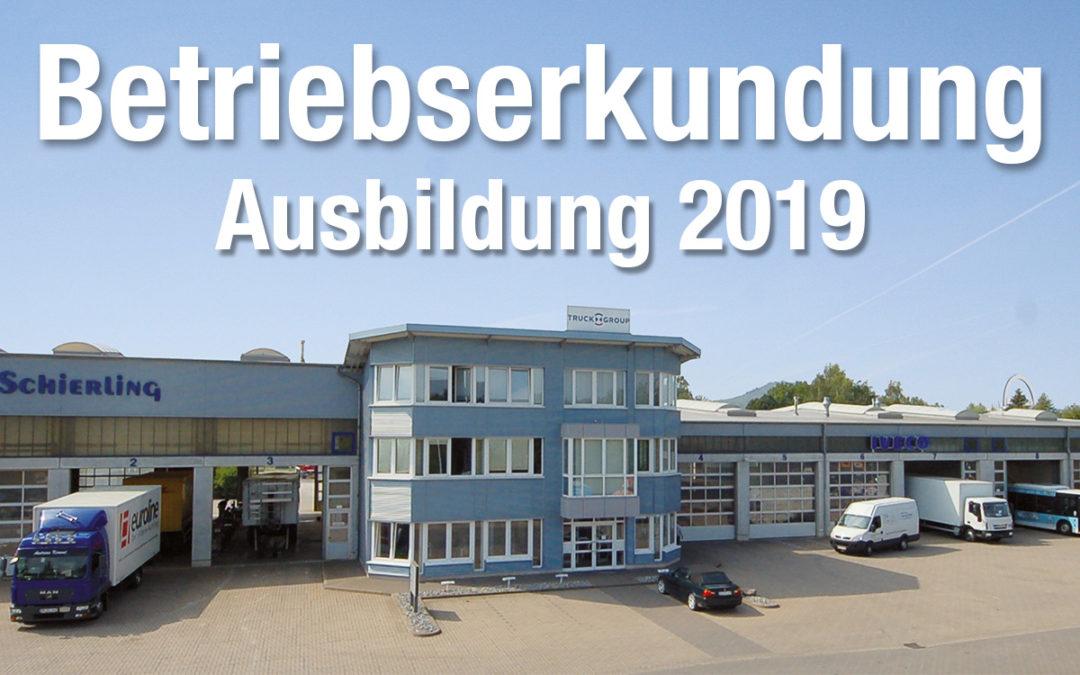 Ausbildung 2019 in Hameln - Betriebserkundung