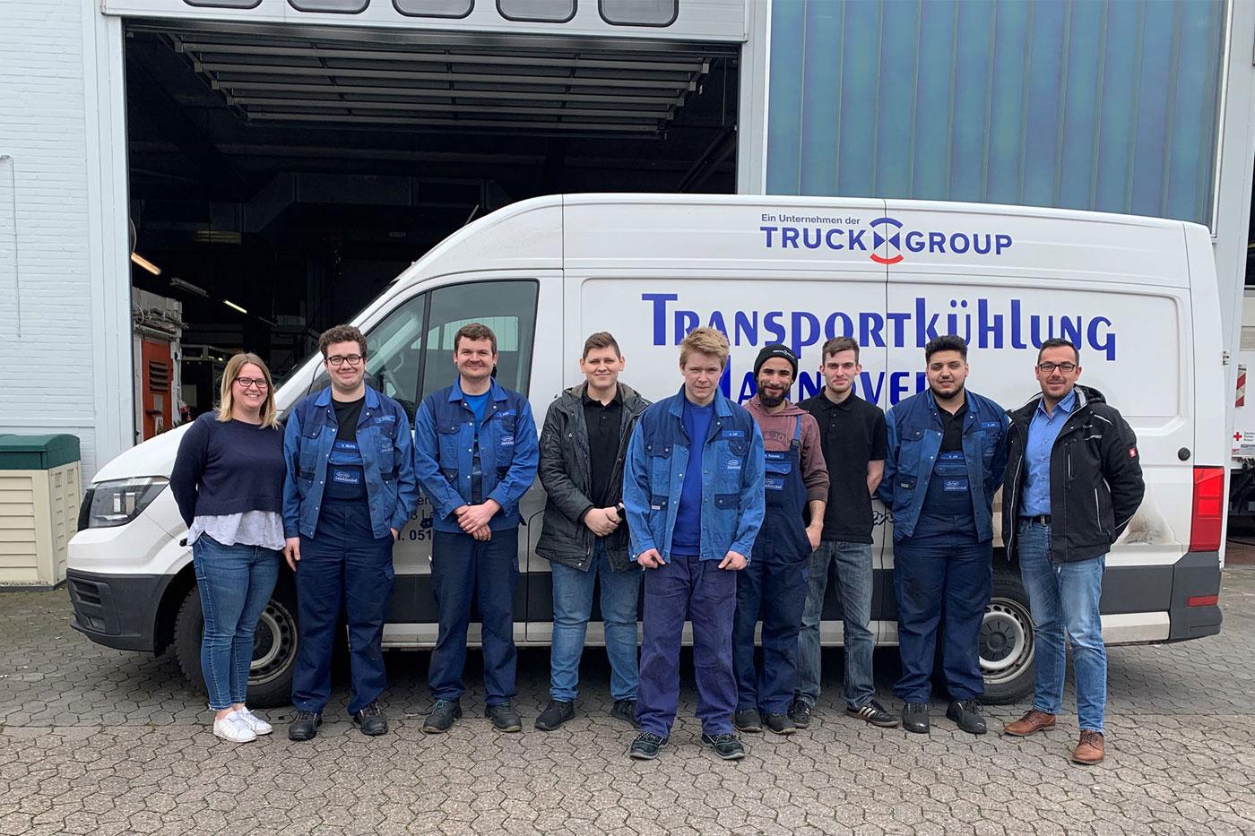 Zukunftstag 2019 in Langenhagen bei Transportkühlung Hannover GmbH