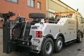 Abschleppservice für LKW und Bus in Wietmarschen, Lohne, Bentheim, Schüttorf
