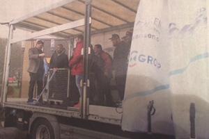 Übergabe ERS LKW Hameln Berufsschule
