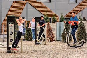 Truckerslife Fitness Anlage Lauenau