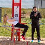 Fitness ANlage für LKW fahrer in Lauenau